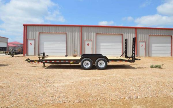 "Big Tex 18' x 83"" Heavy Duty Equipment Hauler"