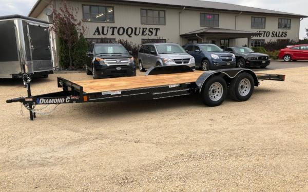 "2019 Diamond C - ""Ranger"" 18' x 83"" Flatdeck Trailer with Dovetail - 7 000 lbs"