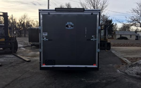 NEW 2017 7x16+v-nose R&M custom Contractor Grade trailer ...