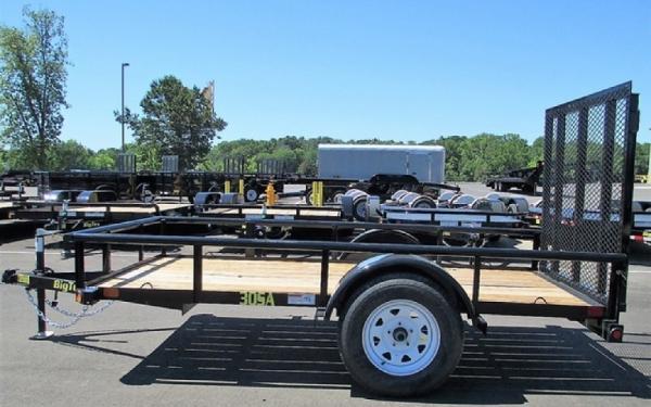 Big Tex 30SA-08 Single Axle Utility Trailer