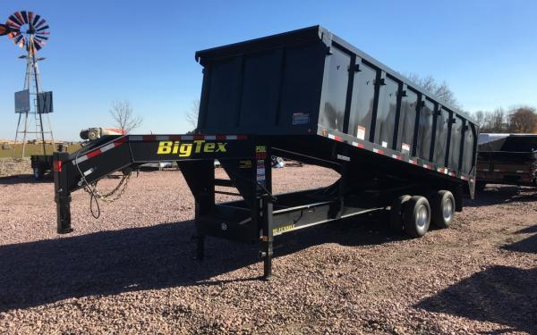 2018 Big Tex 25DU-20 Gooseneck Dump Trailer #9179