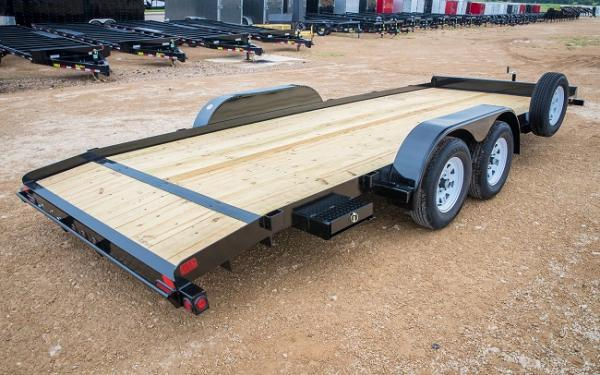 "Big Tex 70CH-83"" x 20 Tandem Axle Car Hauler"