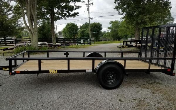 Big Tex 35SA-10 Single Axle Utility Trailer
