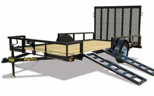 14' Big Tex Single Axle ATV Trailer