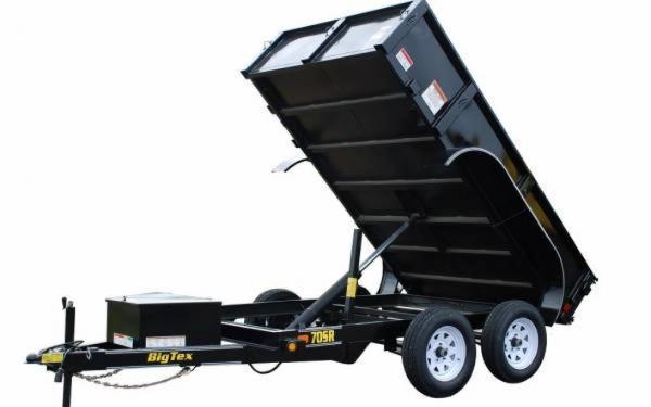 Big Tex 70SR-5W Ram Dump