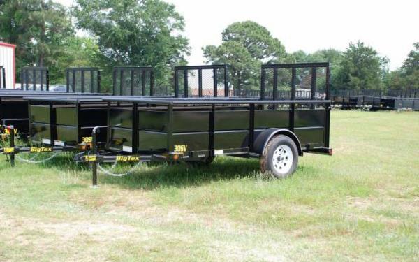 Big Tex 30SV-10 Single Axle