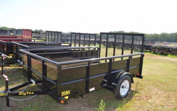 Big Tex 35SV-10 Single Axle