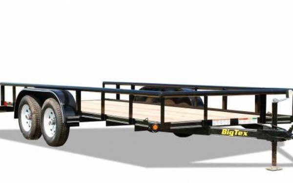 Big Tex 45SS-16BK Tandem Axle