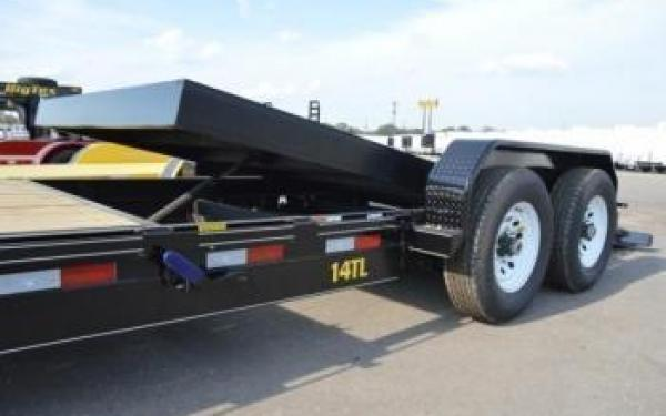 14TL Big Tex Pro Series Tilt Bed Equipment Trailers