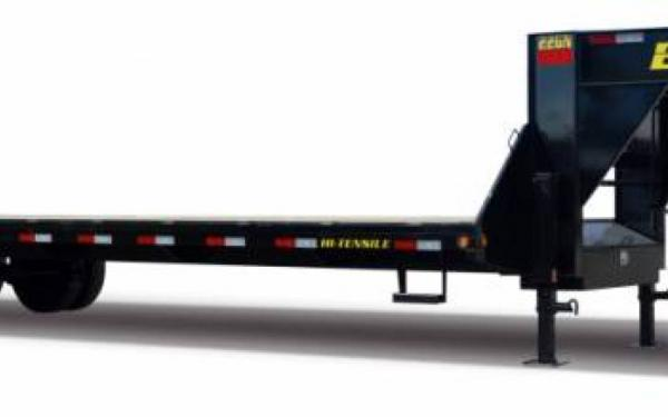 Tandem Dual Axle Gooseneck Trailer