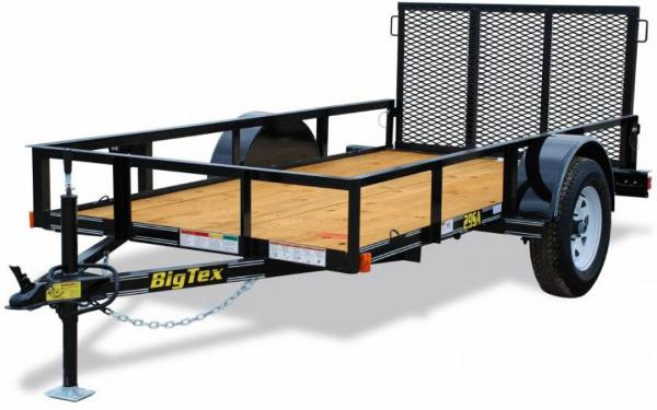 BigTex Single Axle Utility Trailer