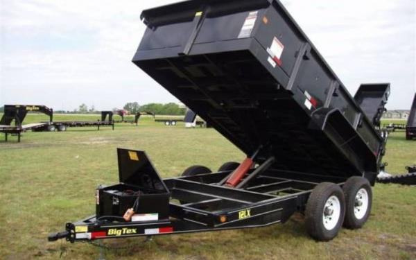 Big Tex Low Profile Extra Wide Dump