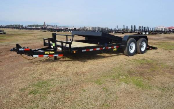 2015 Big Tex Tilt Bed Equipment Trailer