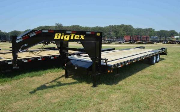 Big Tex Tandem Axle Trailer w/ Center Pop Up