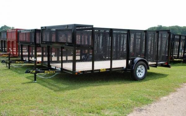 2015 Big Tex Single Axle Landscape Trailer