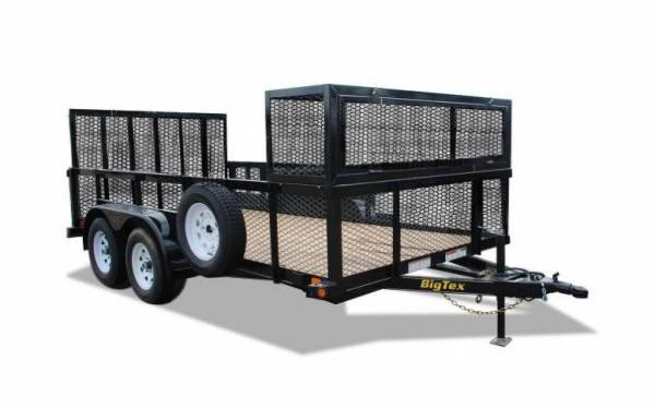Big Tex Tandem Axle Landscape Trailer
