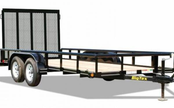 Big Tex Tandem Axle Utility Trailer