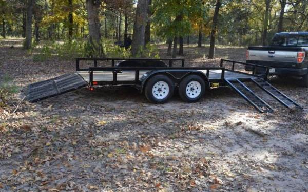 2015 Big Tex Pipe Utility Trailer