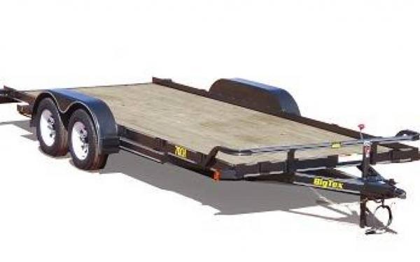 """Big Tex 83""""x18' Tandem Axle Auto Hauler"""