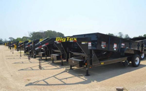 Big Tex 14' Tandem Axle Low Profile Extra Wide Dump