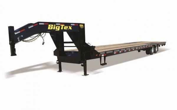 """Big Tex 102""""x25'+5 Tandem Dual Axle Gooseneck"""