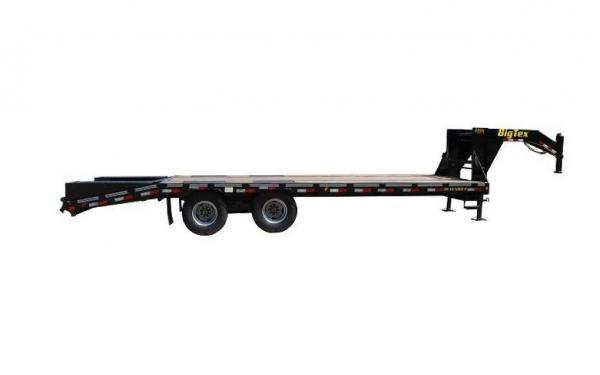 "Big Tex 102""x20'+5' Heavy Duty Tandem Dual Axle Gooseneck"