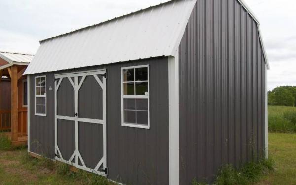 Z-METAL SIDE LOFTED BARN-10'X16'
