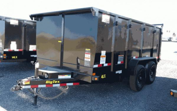 Big Tex 14LX DUMP,(83 x 14) PACKAGE UNIT SEE DESC.