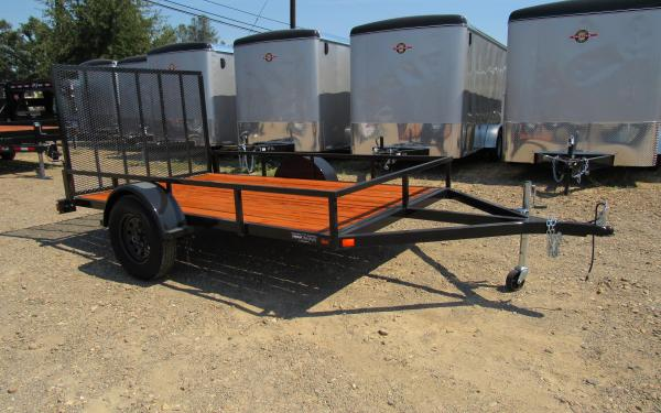Iron Eagle 6'X12' Low Rail Utility Trailer 0652 S10 k11