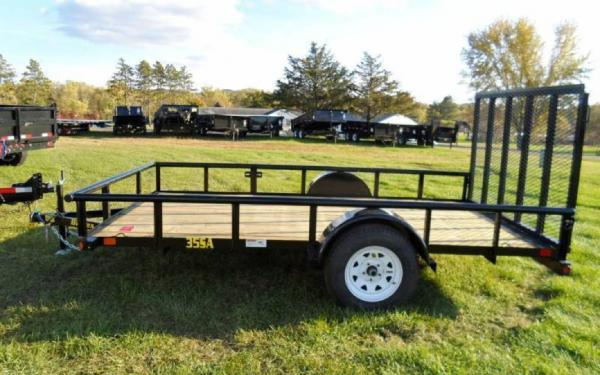 "Big Tex 35SA 77"" Wide Single Axle Utility"