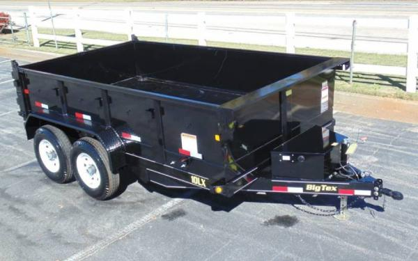 Big Tex 10LX Pro Series Dump Trailer