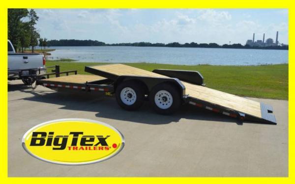 Big Tex 14TL Heavy Duty Tilt Bed Equipment