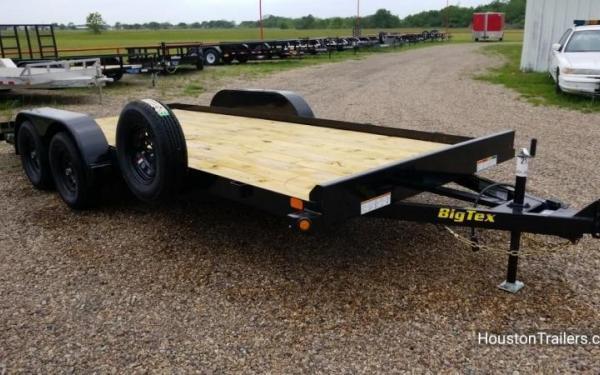 """Big Tex 70CH-83"""" x 18 Tandem Axle Car Hauler"""