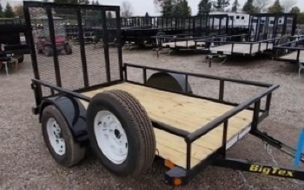 "Big Tex 30SA 60"" Wide Single Axle Utility"