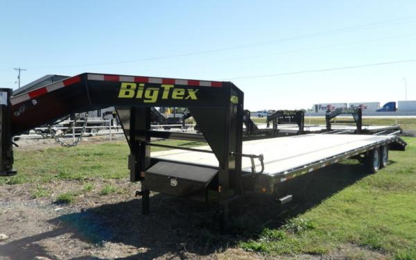 Big Tex 14GN Single Wheel Tandem Gooseneck 25+5MR