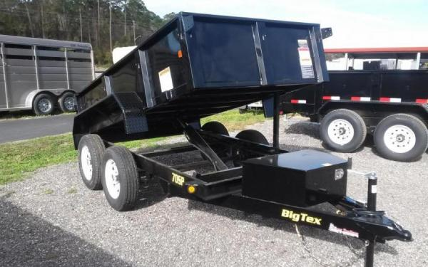 Big Tex 70SR-10-5WDD  Tandem Axle Single Ram Dump