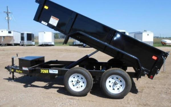 Big Tex 70SR Tandem Axle Single Ram Dump-10