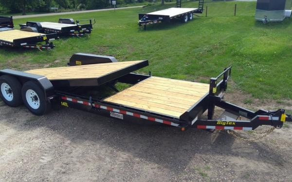 Big Tex 14TL Heavy Duty Tilt Bed Equipment 22'