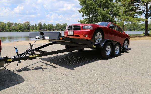Big Tex 70CT Tandem Axle Car Hauler Tilt Trailer 20'