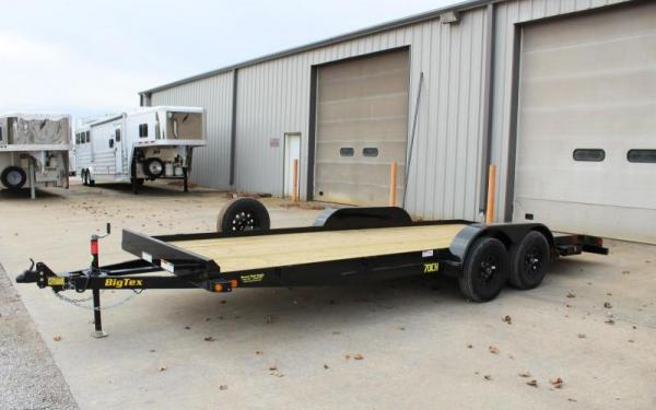 """Big Tex 70CH-83"""" x 20 Tandem Axle Car Hauler"""