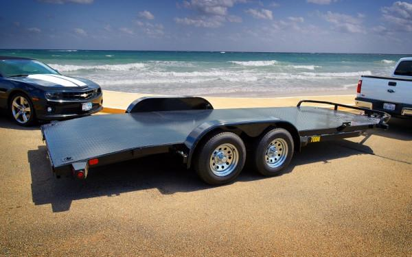 "Big Tex 70DM-83"" x 18 Tandem Axle Premium Car Hauler"