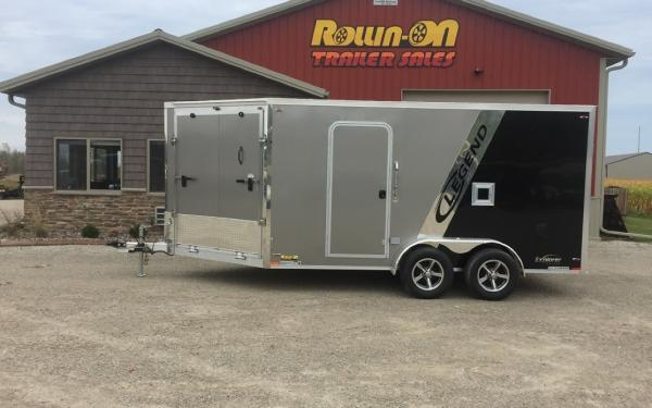 New Legend 19' Explorer 2-Place Snowmobile Trailer