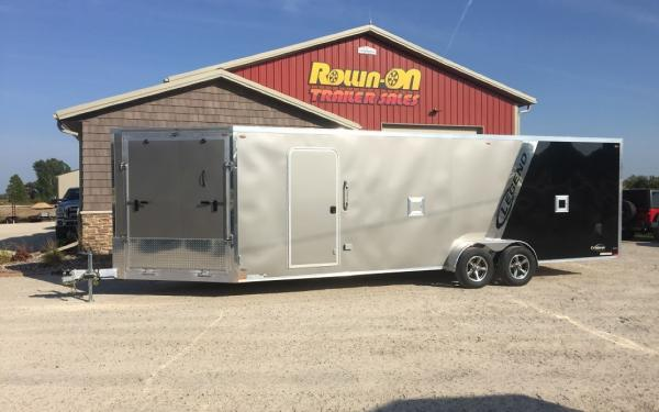 Legend 29' Explorer New 4/5-place enclosed snowmobile trailer in-line