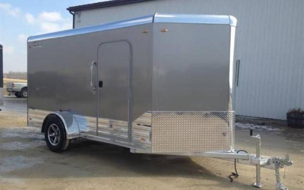 2019 Legend 7x15 Deluxe V-Nose Single Axle Cargo