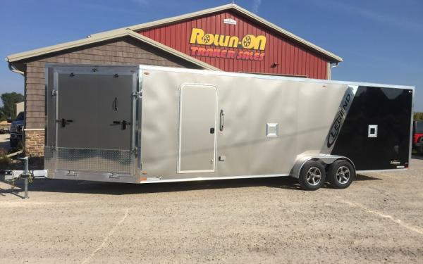 2018 Legend 29' Explorer 4/5-place Enclosed Snowmobile/ATV Trailer