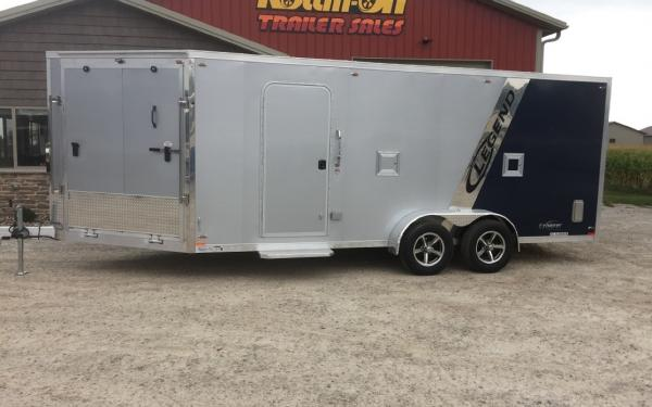 2020 Legend All-Aluminum 23' Explorer Enclosed Snow/ATV Trailer Special Edition