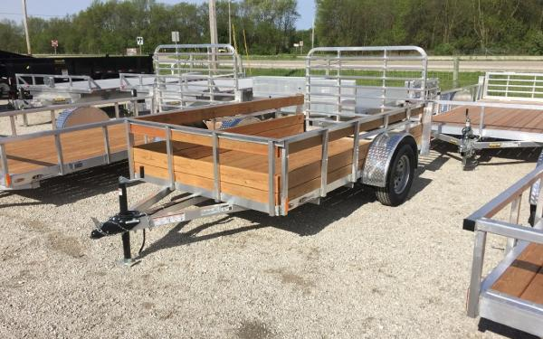 6' x 12' Legend Single Axle Utility Trailer