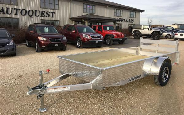 2019 Stronghaul 5' x 12' Solid Side Aluminum Utility Trailer
