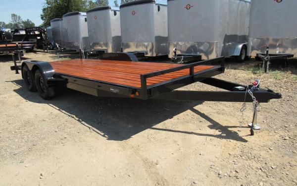 Iron Eagle 7'x16' 7K Car Hauler