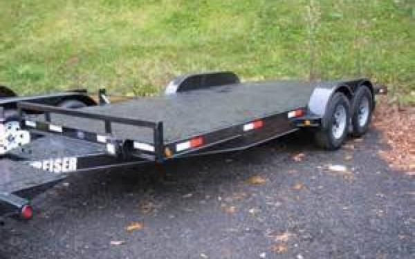 Reiser Diamon Plate Car Hauler